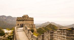 """€ di PECHINO, CINA """"14 ottobre 2013: La grande muraglia della Cina Fotografie Stock Libere da Diritti"""