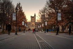 "€ Torontos, Kanada ""am 4. Dezember 2018 University of Toronto lizenzfreies stockbild"