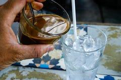 """€ vietnamiano """"Sua Da do leite do café fotografia de stock royalty free"""
