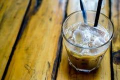"€ vietnamita ""Sua Da de la leche del café fotos de archivo"