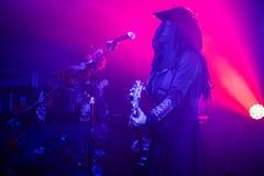 "€ Zagrebs, Kroatien ""kann 30 2019 Konzert des gotischen Rockbands Christian Death des Kults in Zagreb lizenzfreies stockfoto"