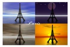巴黎。 库存例证