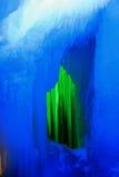 一万冰洞 库存图片