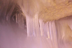 一万冰洞 免版税图库摄影