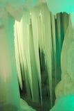 一万冰洞 库存照片