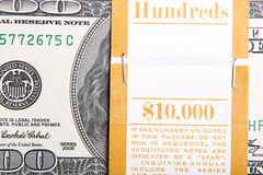 一万美元财务资助 免版税库存图片