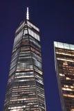 一个世界贸易中心在纽约 库存照片