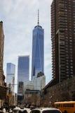 一个世界贸易中心大厦 免版税图库摄影