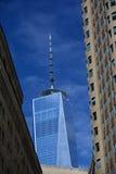 一个世界贸易中心或自由塔 库存照片