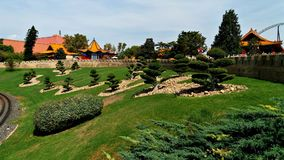 一个主题公园的风景喜欢中国 免版税图库摄影