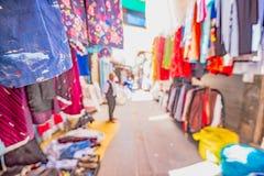 一个义卖市场的看法在马尔丁,土耳其 库存图片