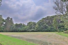 一个乡村俱乐部高尔夫球场在香港 库存照片