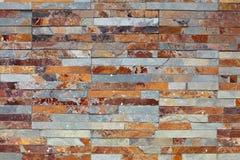 板岩墙壁纹理 免版税库存照片