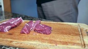 一个人切猪肉 股票视频
