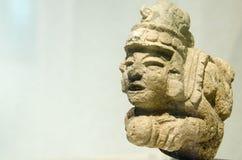 一个人的古老玛雅图 库存照片