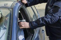 一个人的拘捕 免版税库存照片