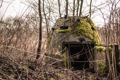 一个人蛋地堡(WWII) 库存图片