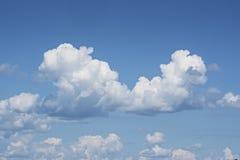 以一个人类胚胎的形式云彩 _2 免版税库存照片