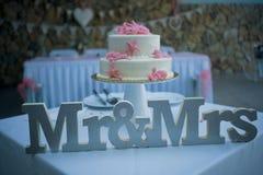 一个令人难忘的婚礼的难忘的标志 免版税图库摄影