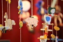 一个传统玩具,孩子的概念图象,当前 免版税库存图片