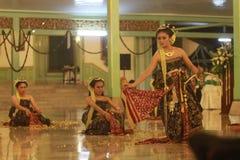一个传统舞蹈 库存图片