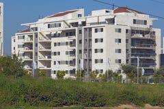 一个住宅区的建筑 免版税图库摄影