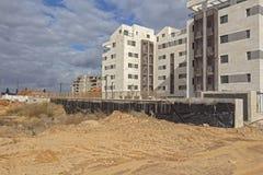一个住宅区的建筑 库存照片