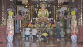 一个佛教祷告 影视素材