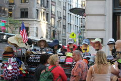 一个供营商在纽约 图库摄影