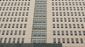 一个公寓的门面在西贡 免版税库存图片