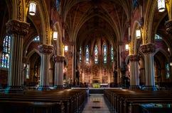 一个公理教会在阿尔巴尼,纽约 图库摄影