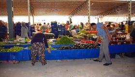 一个典型的东方室外市场在土耳其 图库摄影