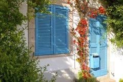 一个典型的地中海房子 库存图片