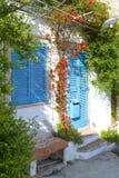 一个典型的地中海房子 免版税库存图片