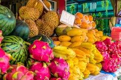 一个典型的场面在Karon普吉岛泰国 库存图片