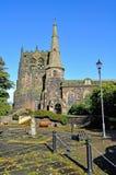 一个典型的村庄教会在英国 免版税库存照片