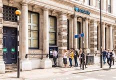 一个典型的看法在中央伦敦英国 库存照片