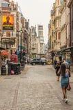 一个典型的看法在伦敦 免版税库存图片