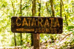 一个典型的看法在哥斯达黎加 免版税图库摄影