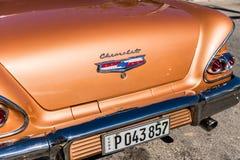 一个典型的看法在巴拉德罗角在古巴 免版税库存照片