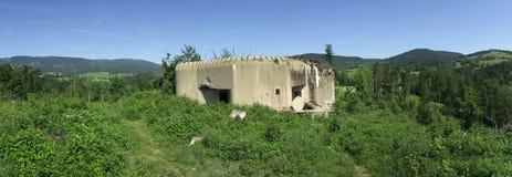 一个军事堡垒StMS 31b 免版税库存图片