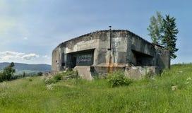 一个军事堡垒StMS 34 免版税库存照片