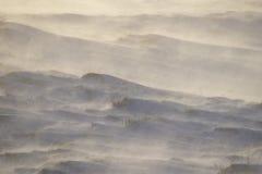 一个冷和有风早晨在冰岛 库存照片