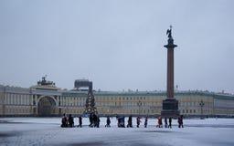 一个冷的阴沉的早晨在12月 免版税图库摄影