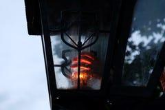 一个减速火箭的灯笼 库存照片