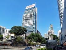 一个北京摩天大楼在香港 免版税库存图片