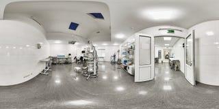 360一个医学机关的全景 免版税库存图片