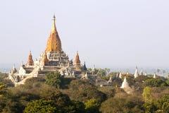 Bagan寺庙 免版税库存照片