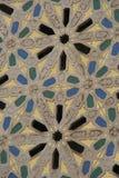 一个历史大厦的细节在卡萨布兰卡 库存照片