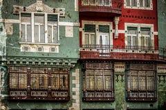 一个历史大厦老明信片  蒂米什瓦拉11 库存照片